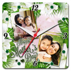 Mother's Day Special Square Clock 02