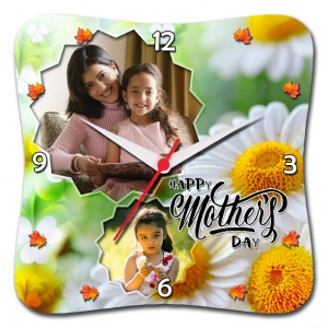 Mother's Day Special Squarve Clock 05