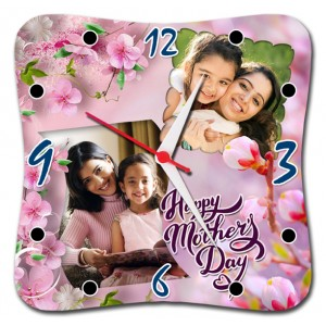 Mother's Day Special Squarve Clock 06