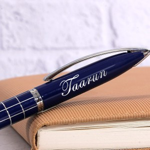 Personalized Executive Designer Ball Pen with Engraved Name backview