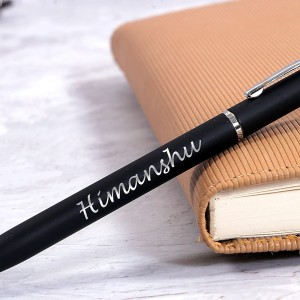 Personalized Executive Smart Ball Pen with Engraved Name backview
