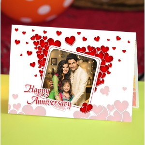 Personalized Anniversary Greeting Card 001