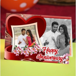 Personalized Anniversary Greeting Card 002