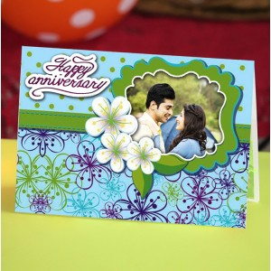 Personalized Anniversary Greeting Card 003