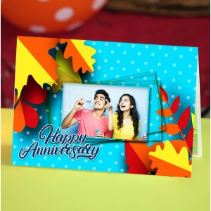 Personalized Anniversary Greeting Card 004