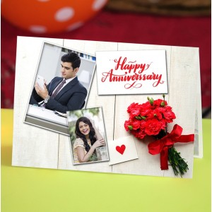 Personalized Anniversary Greeting Card 005