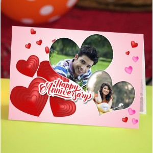Personalized Anniversary Greeting Card 006