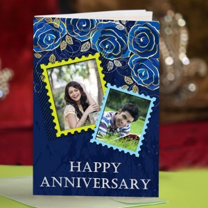 Personalized Anniversary Greeting Card 008