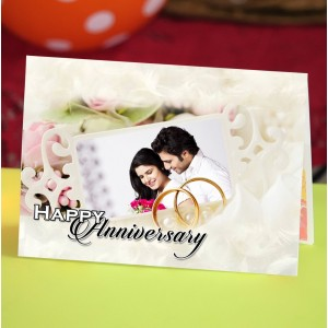 Personalized Anniversary Greeting Card 009
