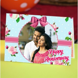 Personalized Anniversary Greeting Card 010