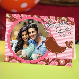 Personalized Anniversary Greeting Card 011