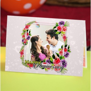 Personalized Anniversary Greeting Card 012