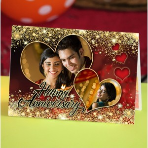 Personalized Anniversary Greeting Card 013