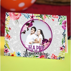 Personalized Anniversary Greeting Card 014