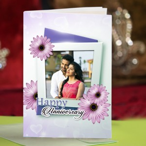 Personalized Anniversary Greeting Card 015