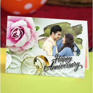 Personalized Anniversary Greeting Card 016