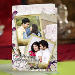 Personalized Anniversary Greeting Card 017