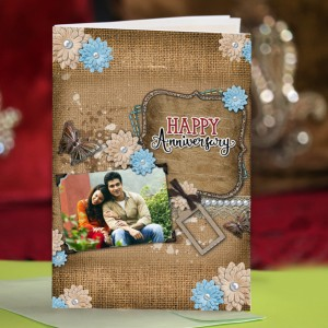 Personalized Anniversary Greeting Card 018