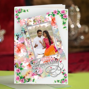 Personalized Anniversary Greeting Card 019