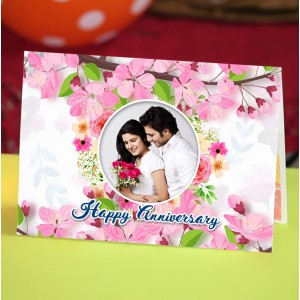 Personalized Anniversary Greeting Card 020
