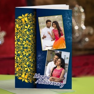 Personalized Anniversary Greeting Card 021