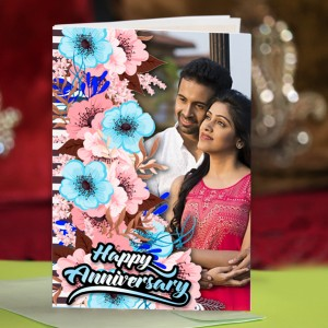 Personalized Anniversary Greeting Card 022