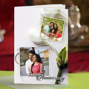 Personalized Anniversary Greeting Card 023