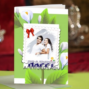 Personalized Anniversary Greeting Card 024