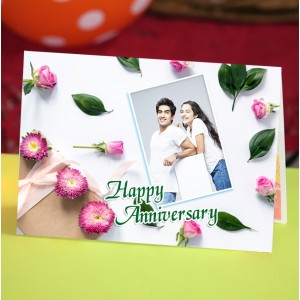 Personalized Anniversary Greeting Card 025