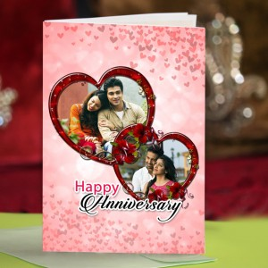 Personalized Anniversary Greeting Card 026