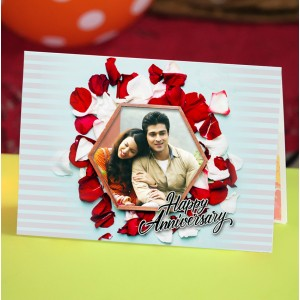 Personalized Anniversary Greeting Card 027