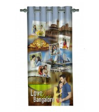 Personalized Bangalore Memories Photo Curtain