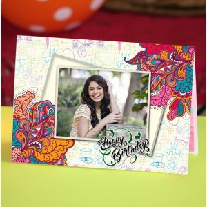 Personalized Birthday Greeting Card 002