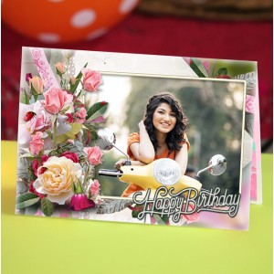 Personalized Birthday Greeting Card 003