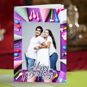 Personalized Birthday Greeting Card 004