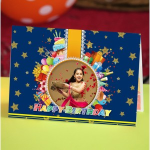 Personalized Birthday Greeting Card 006