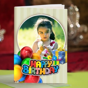 Personalized Birthday Greeting Card 007