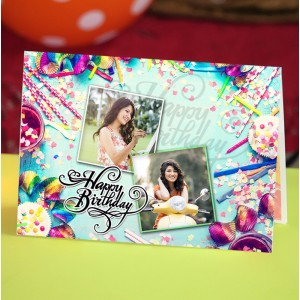 Personalized Birthday Greeting Card 008