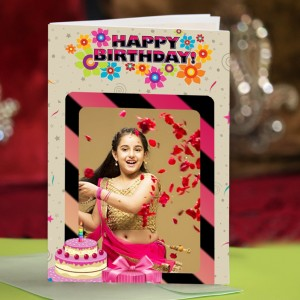 Personalized Birthday Greeting Card 009