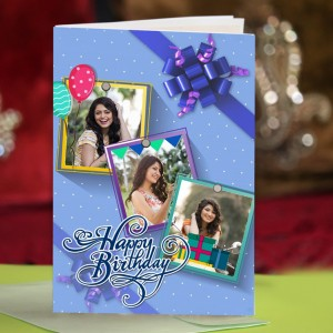 Personalized Birthday Greeting Card 010