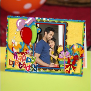 Personalized Birthday Greeting Card 011