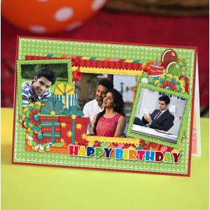 Personalized Birthday Greeting Card 012