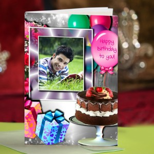 Personalized Birthday Greeting Card 013