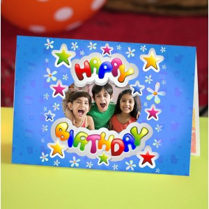 Personalized Birthday Greeting Card 014
