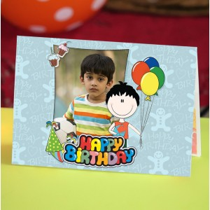 Personalized Birthday Greeting Card 015