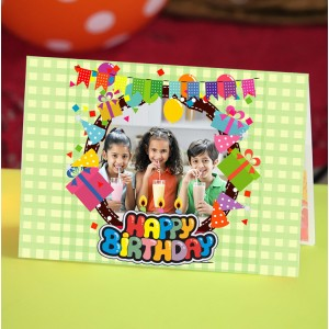 Personalized Birthday Greeting Card 018