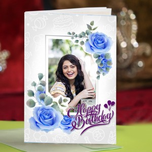 Personalized Birthday Greeting Card 021