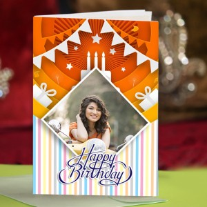 Personalized Birthday Greeting Card 022