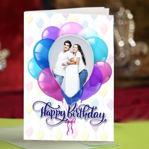 Personalized Birthday Greeting Card 023
