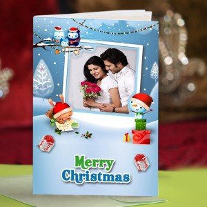 Personalized Christmas Greeting Card 001